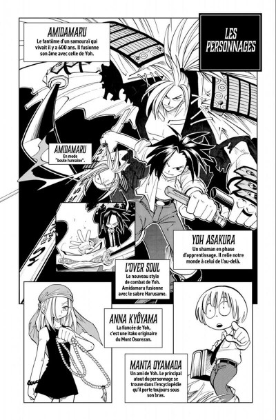 Page 4 Shaman king - star édition tome 4