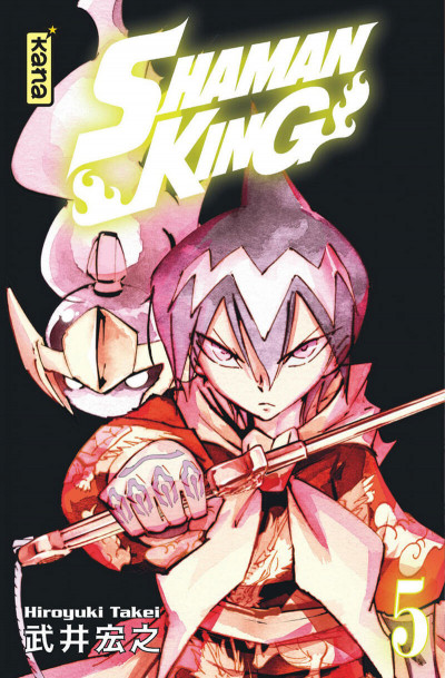Couverture Shaman king - star édition tome 5