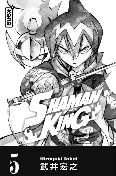 Page 3 Shaman king - star édition tome 5