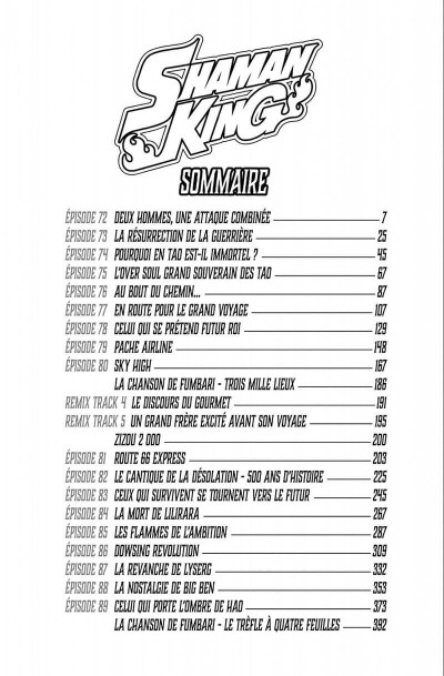 Page 6 Shaman king - star édition tome 5