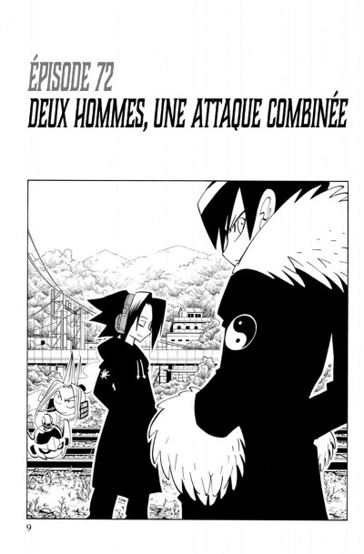 Page 9 Shaman king - star édition tome 5