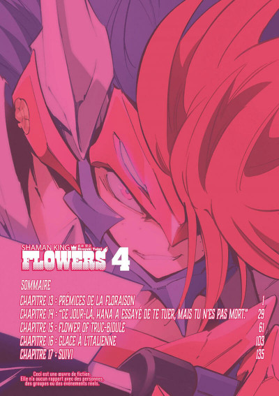Page 4 Shaman king flowers tome 4