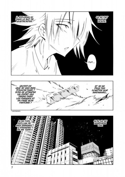 Page 7 Shaman king flowers tome 4