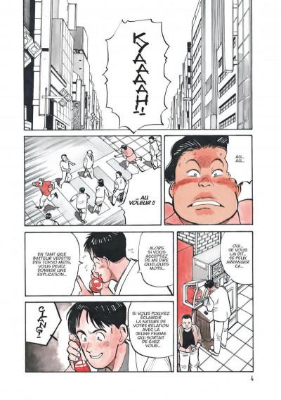 Page 4 Yawara ! tome 1