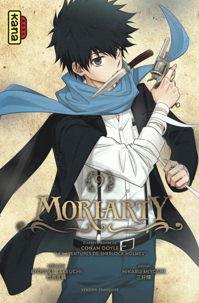 Couverture Moriarty tome 9