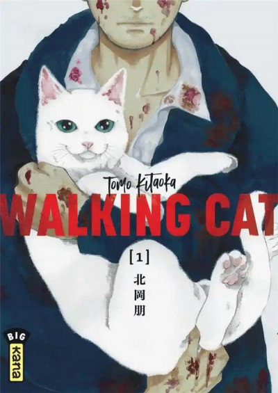Couverture Walking cat tome 1