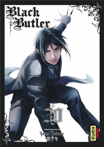 Couverture Black butler tome 30