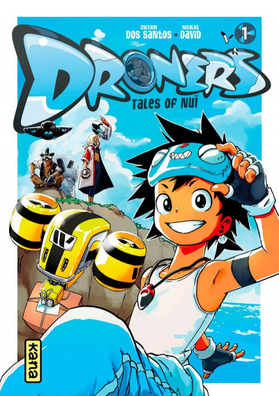 Couverture Droners tome 1