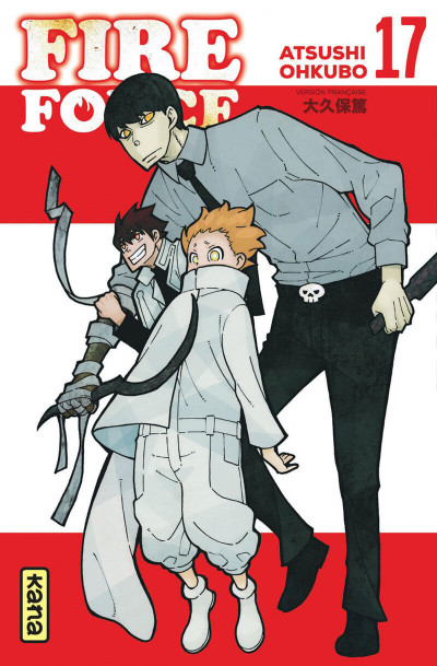 Couverture Fire force tome 17