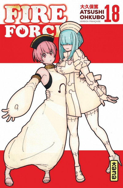 Couverture Fire force tome 18