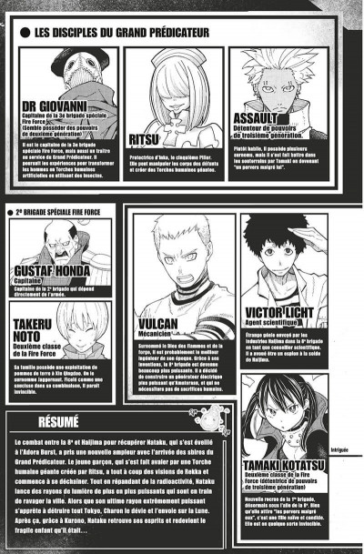 Page 6 Fire force tome 18
