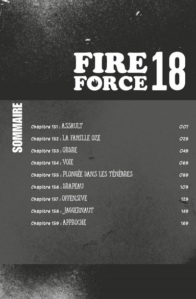 Page 7 Fire force tome 18