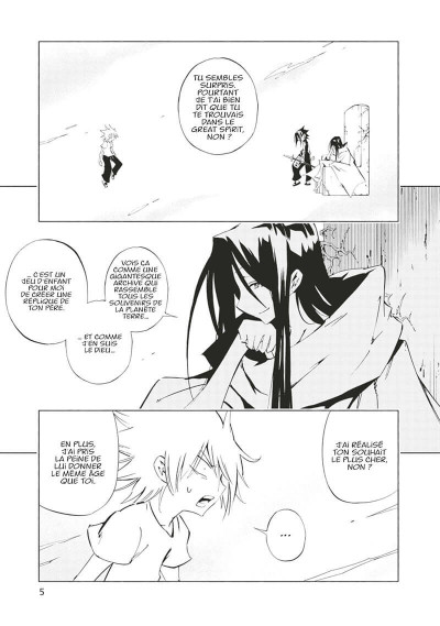 Page 6 Shaman king flowers tome 5