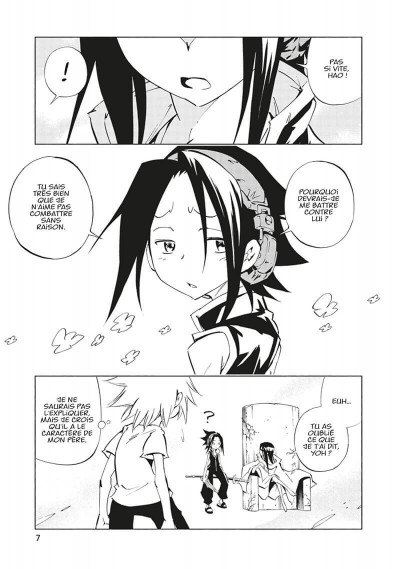 Page 8 Shaman king flowers tome 5