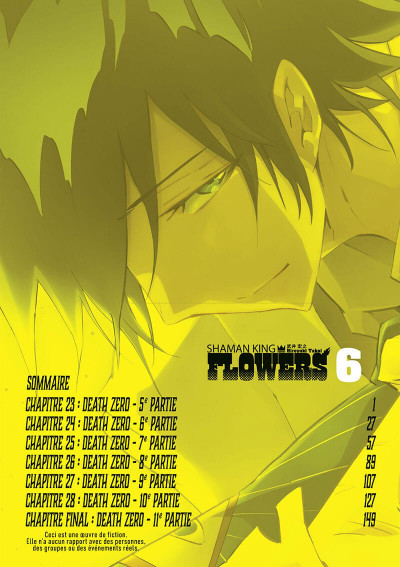Page 5 Shaman king - flowers tome 6