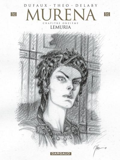 Couverture Murena - version crayonnée tome 11