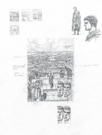 Page 3 Murena - version crayonnée tome 11