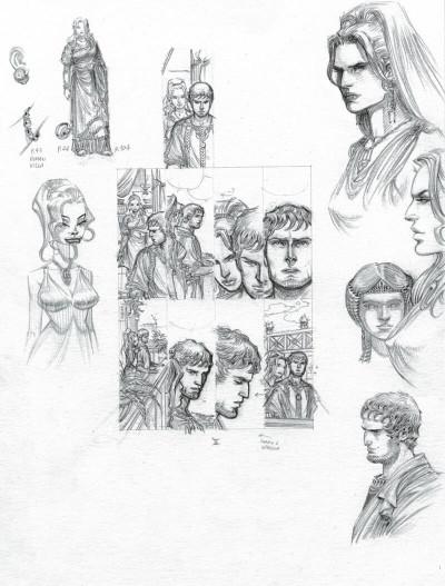 Page 4 Murena - version crayonnée tome 11