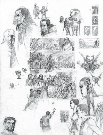 Page 5 Murena - version crayonnée tome 11