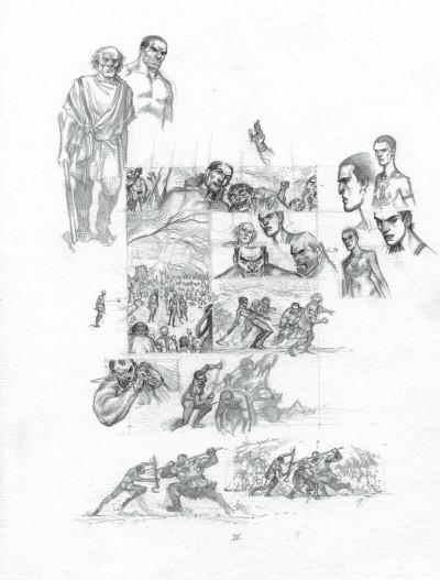 Page 6 Murena - version crayonnée tome 11