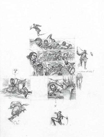 Page 7 Murena - version crayonnée tome 11