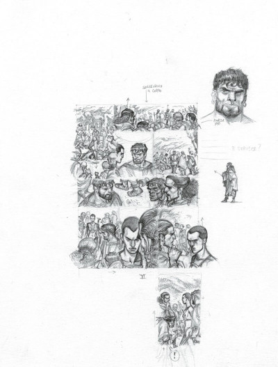 Page 8 Murena - version crayonnée tome 11