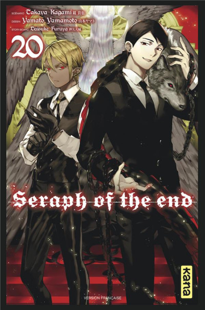 Couverture Seraph of the end tome 20