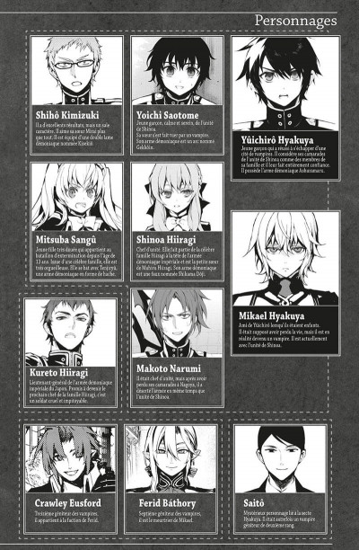 Page 3 Seraph of the end tome 20