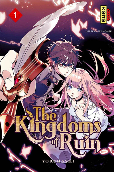 Couverture The kingdoms of ruin tome 1