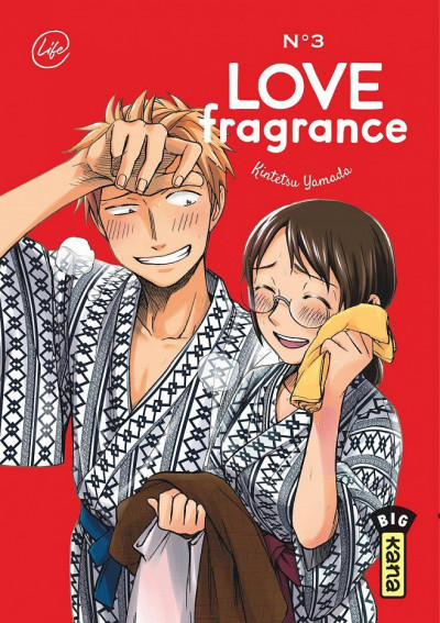 Couverture Love fragrance tome 3