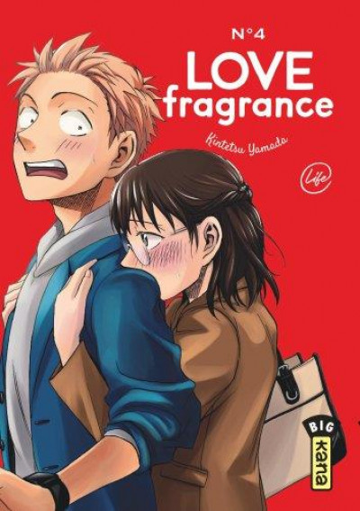Couverture Love fragrance tome 4