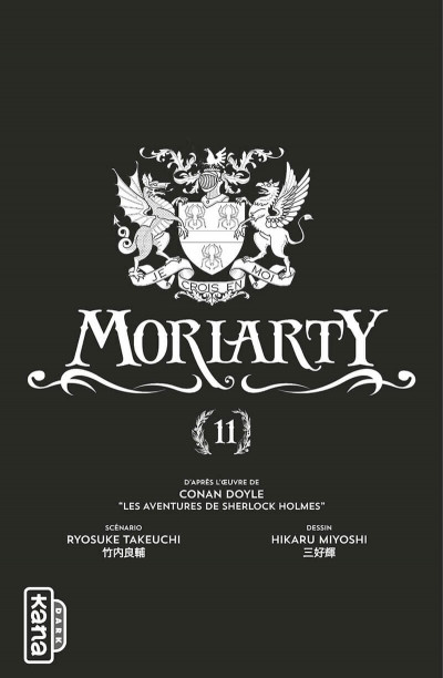 Page 2 Moriarty tome 11
