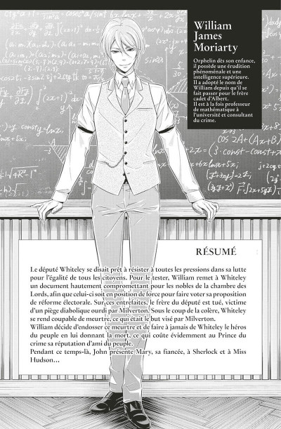 Page 3 Moriarty tome 11