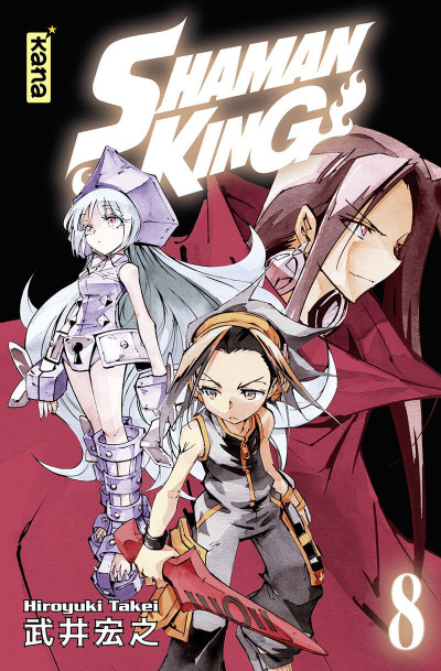 Couverture Shaman king - star edition tome 8