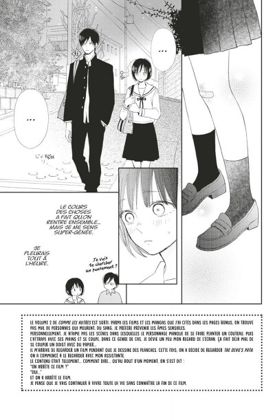 Page 8 Comme les autres tome 2