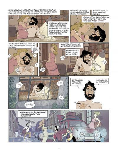 Page 6 Les beaux étés tome 6 + ex-libris offert