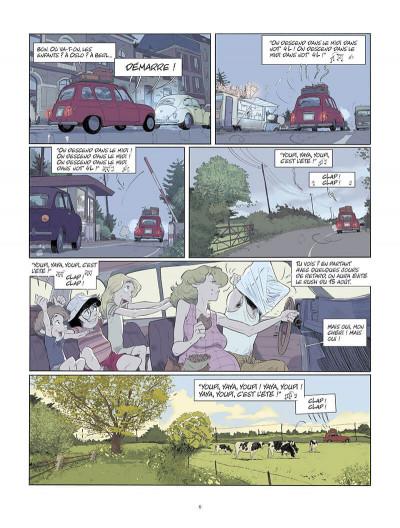 Page 7 Les beaux étés tome 6 + ex-libris offert