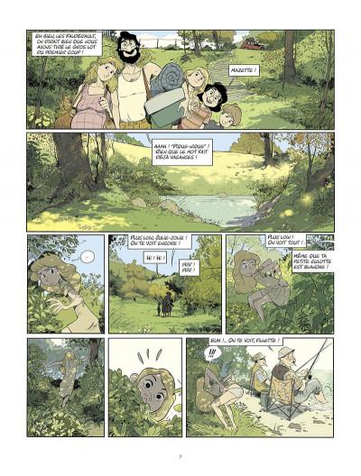 Page 8 Les beaux étés tome 6 + ex-libris offert