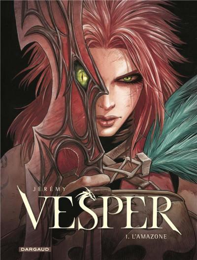 Couverture Vesper tome 1 + ex-libris offert