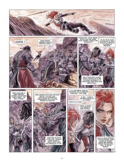 Page 7 Vesper tome 1 + ex-libris offert