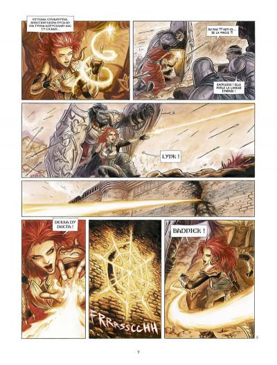 Page 8 Vesper tome 1 + ex-libris offert