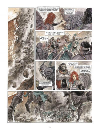 Page 9 Vesper tome 1 + ex-libris offert