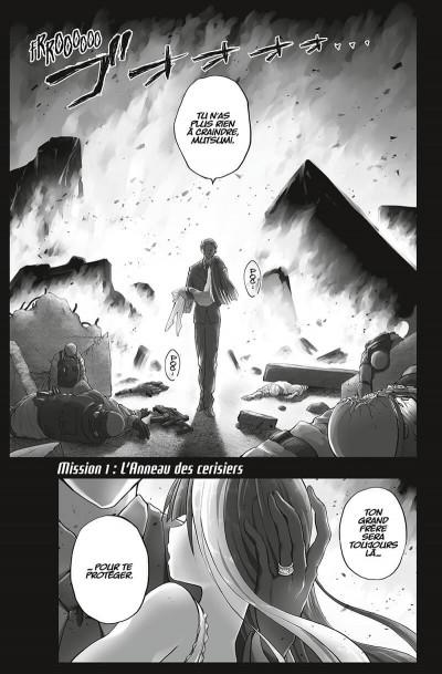 Page 4 Mission - Yozakura family tome 1