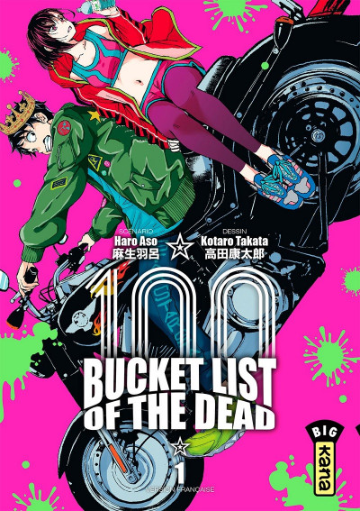 Couverture Bucket list of the dead tome 1