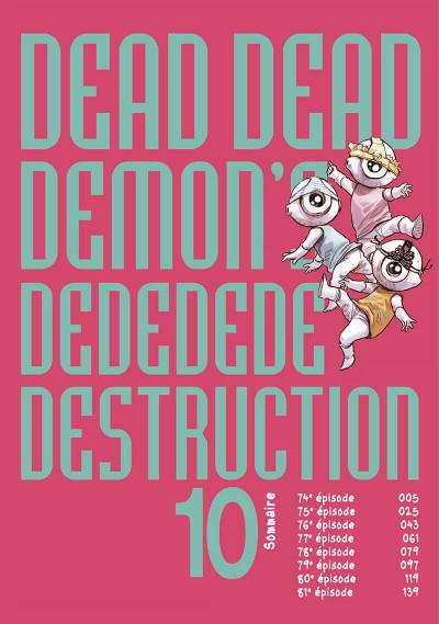 Page 5 Dead dead demon's dededededestruction tome 10
