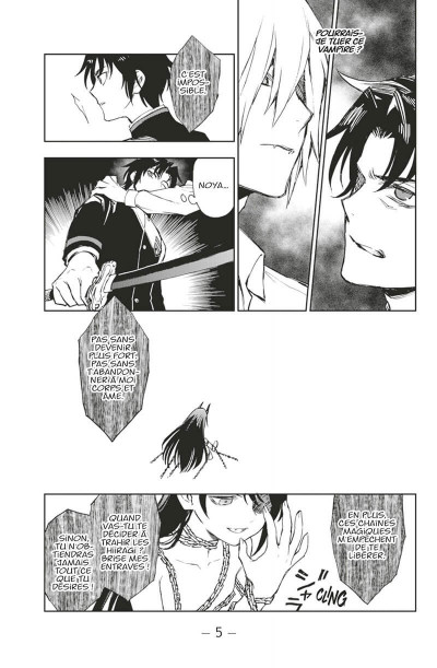 Page 6 Seraph of the end - Glenn Ichinose tome 8