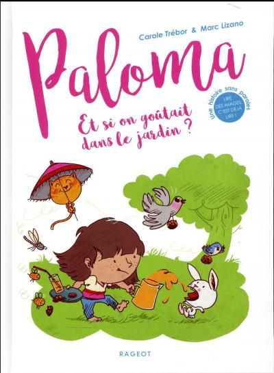 Couverture Paloma - et si on goûtait dans le jardin ?