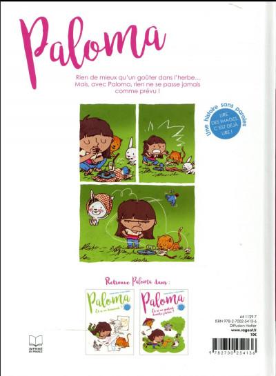Dos Paloma - et si on goûtait dans le jardin ?