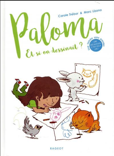 Couverture Paloma - et si on dessinait