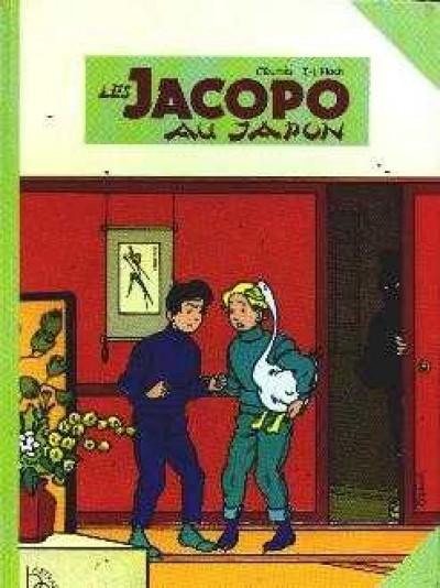 Couverture Les Jacopo au Japon